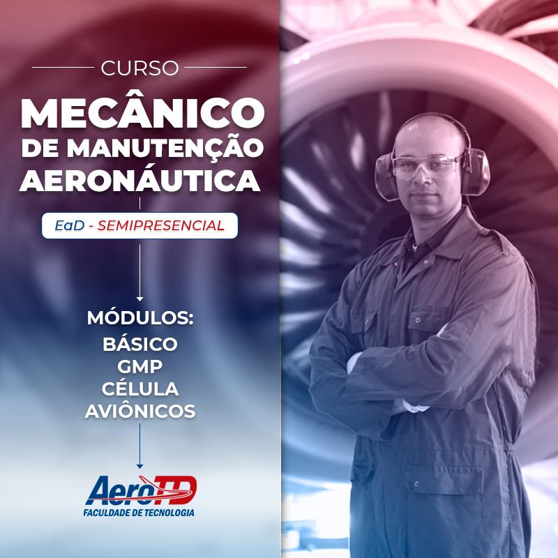 curso mecanico de manutenção aeronáutica