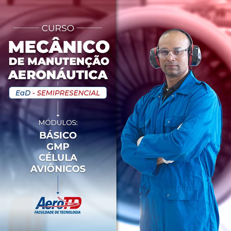 curso mecânico de manutenção aeronáutica aerotd ead